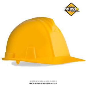 casco bunker A1300 armadura casco tipo ingeniero dielectrico con Rachet 4 Puntos de Apoyo Amarillo