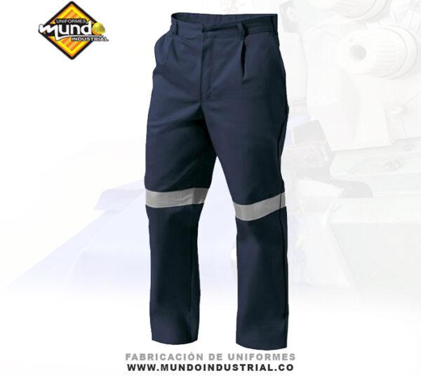 Pantalón con reflectivo para hombre dotación uniformes cucuta