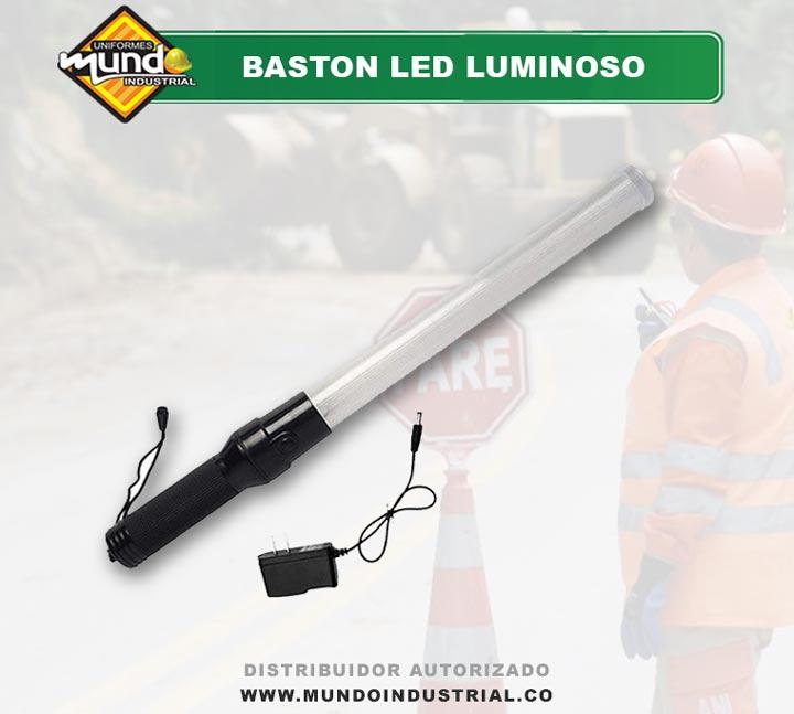 Bastón Luminoso Señalizacion Control Trafico Recargable Cucuta