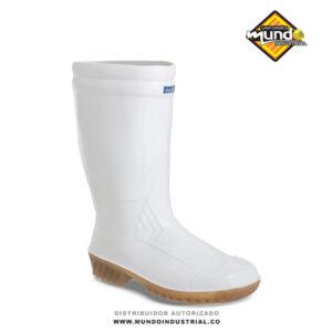 Bota Machita Croydon Blanca de caucho PVC