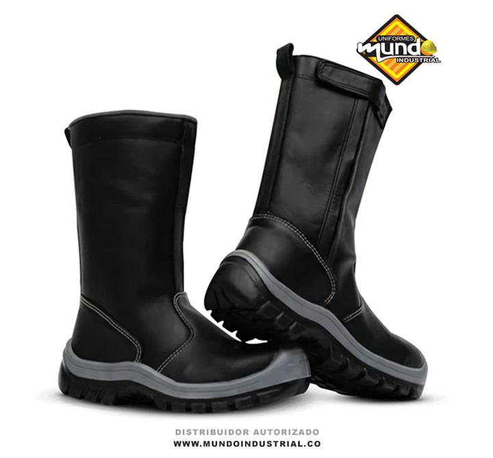 Bota Soldador marca grulla bota de seguridad en cuero