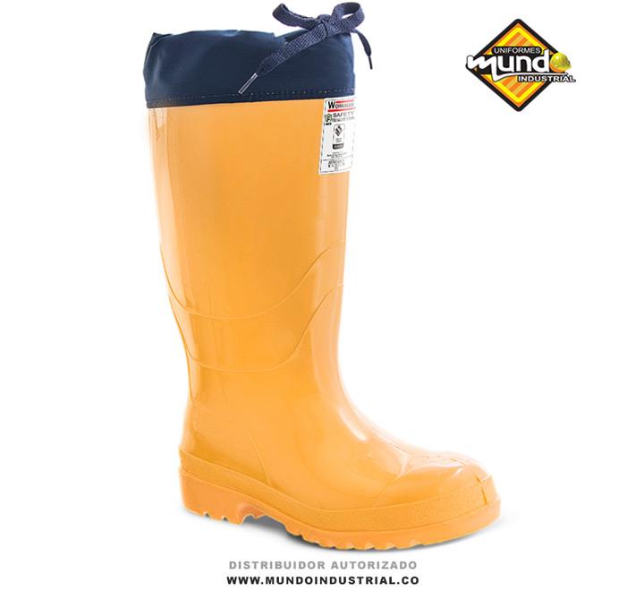 Bota Workman Safety Food Industry Thermal Amarilla