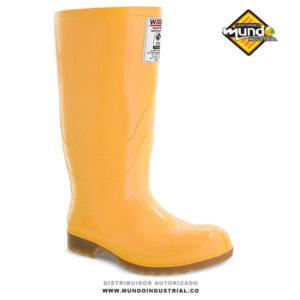 Bota workman safety waterproof amarilla 2021