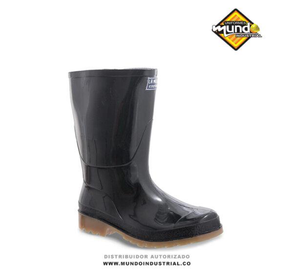 Botas croydon PVC macha baja negra botas de caucho