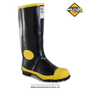 Botas de Caucho Royal Argyll Super Safety negra