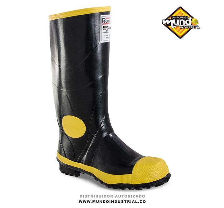 Bota PVC Royal Argyll Super Safety Negra