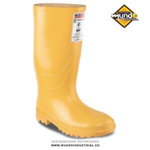Botas de Caucho con punta acero amarilla Workman Safety Food Industry SP Pu