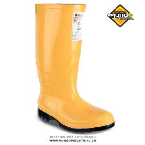 Botas de caucho workman oil resistant amarilla