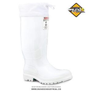 Botas workman safety food industry thermal blanca