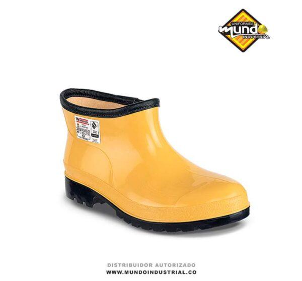 Botin PVC Workman Safety Oil Resistant Amarillo