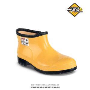 Botin PVC Workman Super Safety Oil Resistant Amarillo