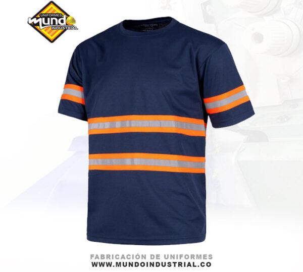 Camiseta de trabajo con reflectivo dotación uniforme