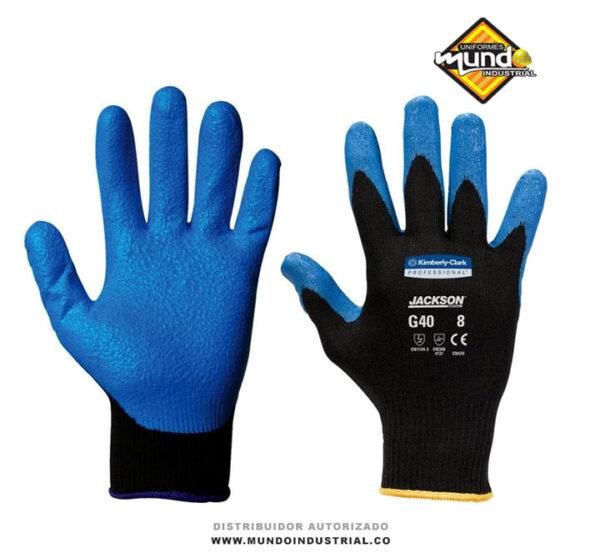 Guante kleenguard g40 nitrilo azul Jackson Safety