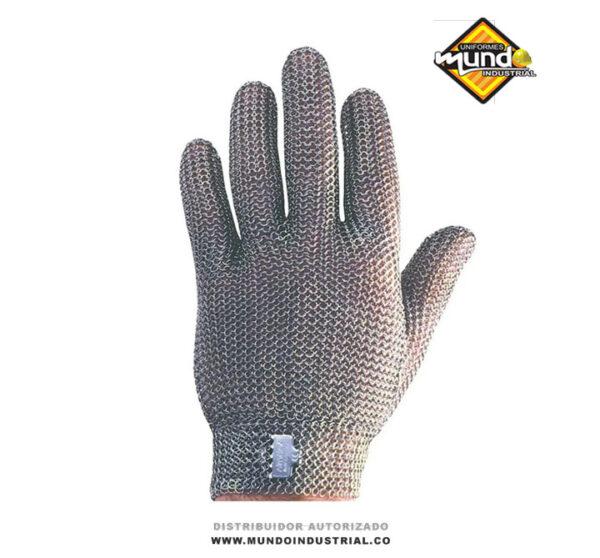 Guante malla de acero inoxidable guantes anticorte