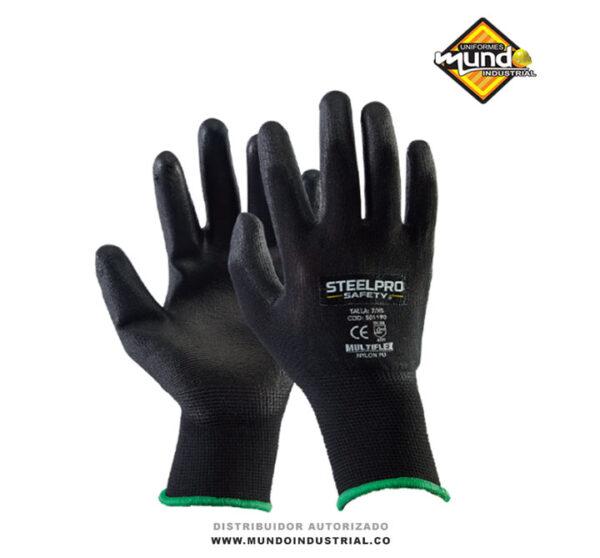 Guantes Multiflex de Nylon PU Steelpro