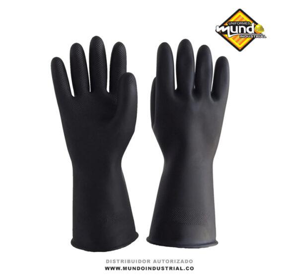 Guantes-de-caucho-industrial-calibre-35-certificados-marca-Nara-Safe