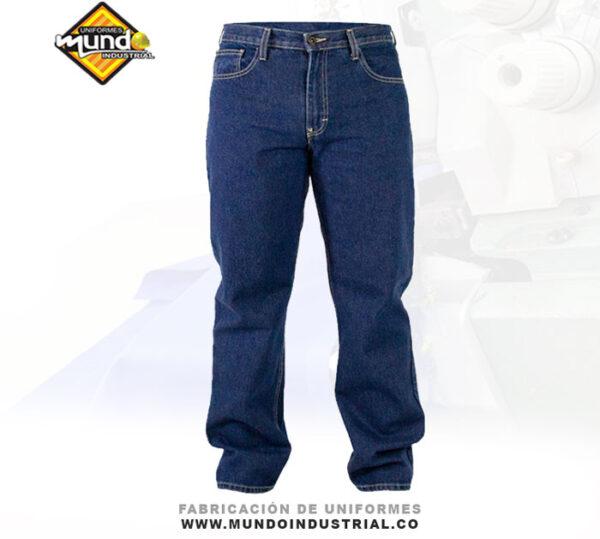 Jean industrial de dotación para hombre