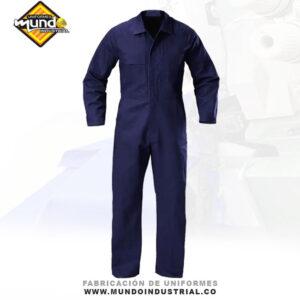 Overol Industrial azul para hombre
