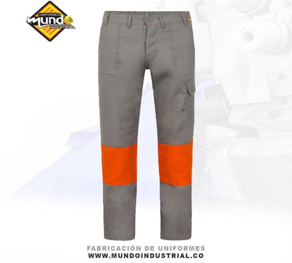 Pantalones en tela ignifuga alta visibilidad