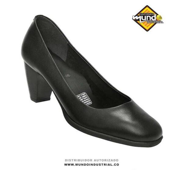 Tacón ejecutivo calzado Rómulo ref 1569 calzado dotación mujer