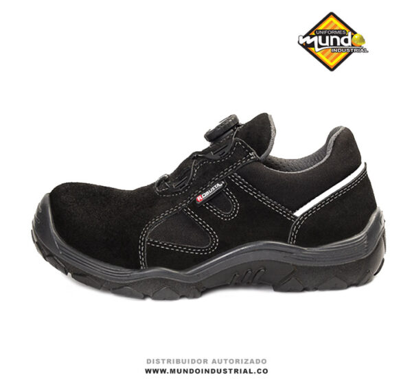Zapato de seguridad robusta runner air lock negro 2021
