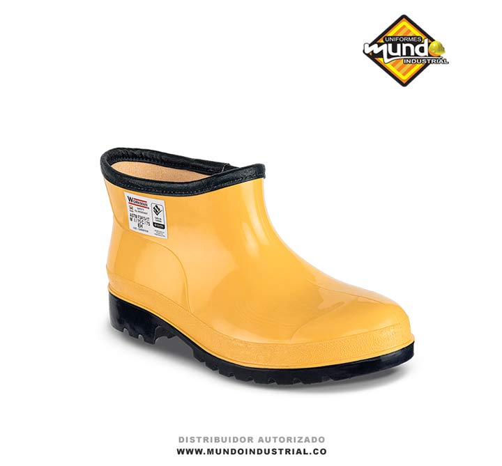 Zapaton Workman Colombia Super Safety Oil Resistant Amarillo