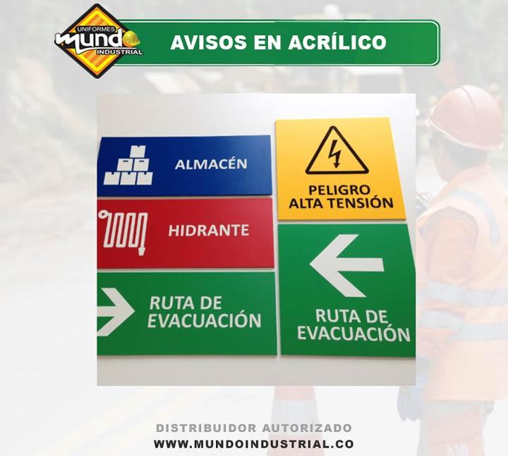 Venta de Avisos en Acrílico Cúcuta