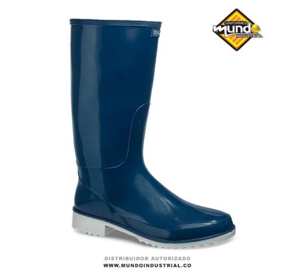 Bota croydon tiffany azul para mujer