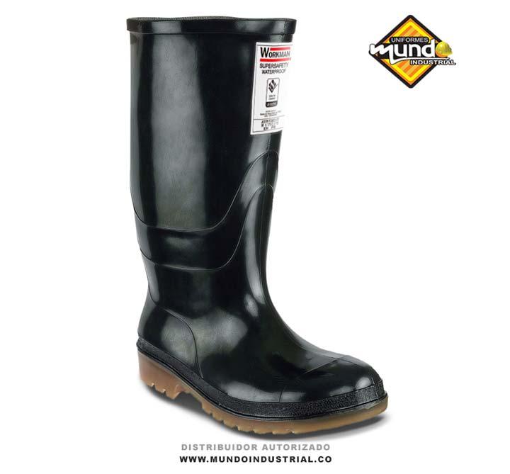 Bota Waterproof Super Safety Negra Workman