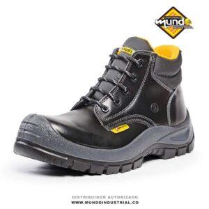 Bota robusta warrior negra 2021 bota de seguridad dieléctrica