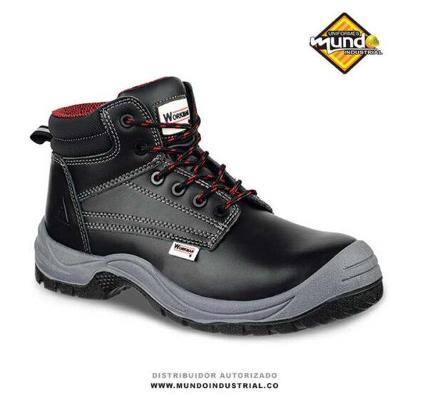bota workman force negra botas de seguridad para hombre