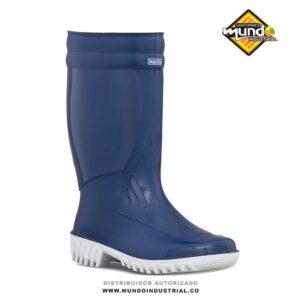 Botas plásticas para mujer croydon machita azul