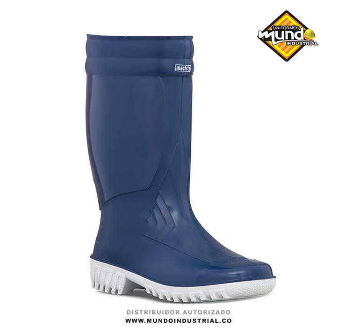 Bota de caucho Croydon Machita Azul