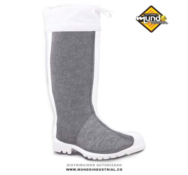 Botas térmicas impermeables blancas marca workman thermal