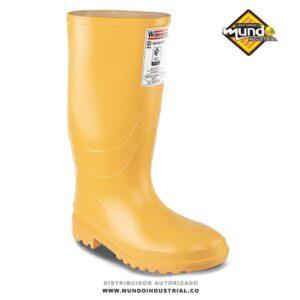 Botas workman amarillas botas de caucho impermeables