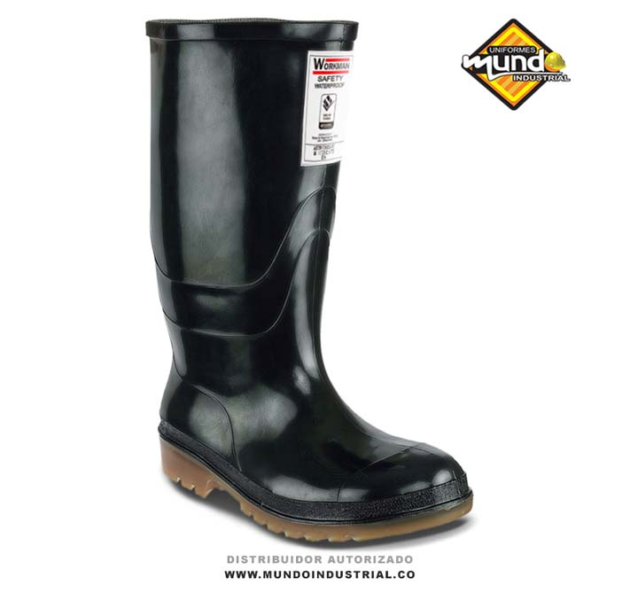 Bota croydon workman safety waterproof PVC con puntera