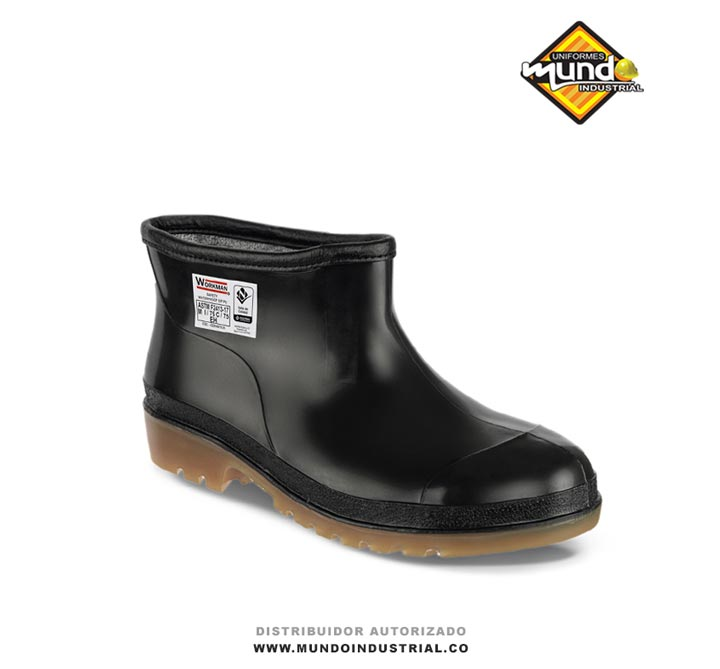 Botines Plásticos Workman Safety Waterproof Negro