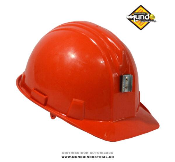casco bunker minero a-1300 armadura rojo