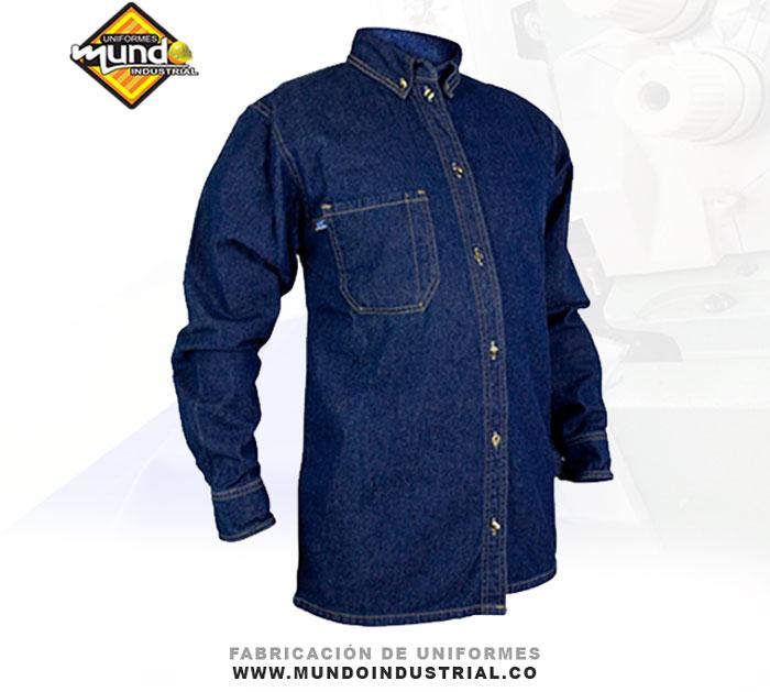 Chaqueta en jean grueso 14 oz para hombre