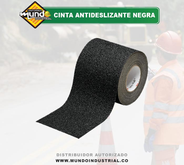 Cinta Antideslizante Negra