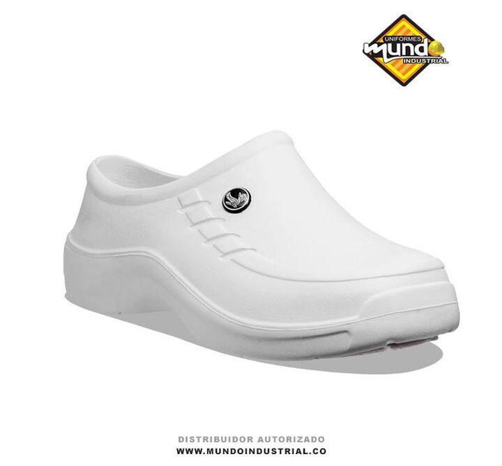 Zapatos antideslizantes evacol 080 blancos