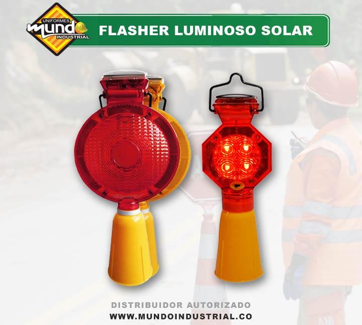 Flasher Luminoso Solar Cucuta