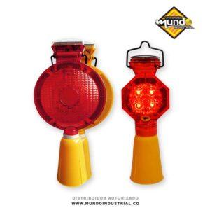 Flasher vial luminoso solar para señalización vial