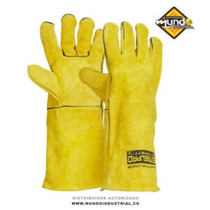 guante para soldador amarillo steelpro colombia