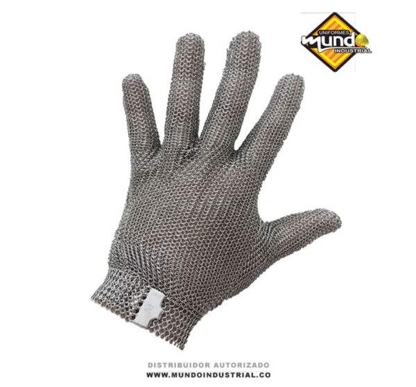 guantes carnicero en acero
