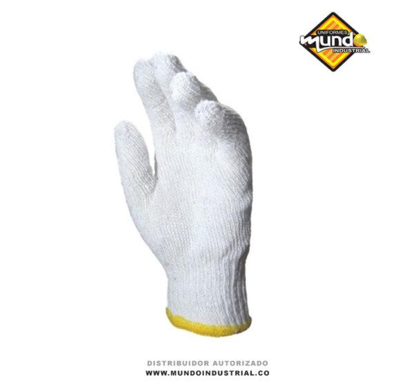 guantes de hilaza sin puntos