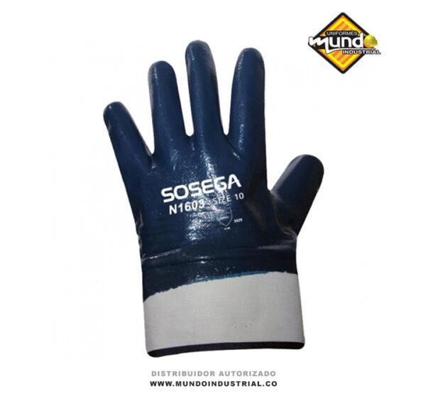 guantes de nitrilo sosega