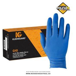 guantes kleenguard G10 guante nitrilo azul cucuta