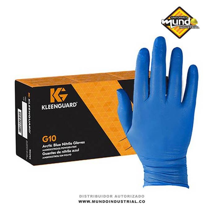 Guantes nitrilo kleenguard G10