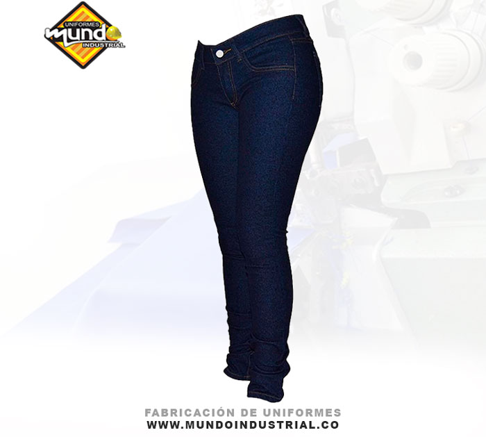Jeans industriales para mujer jean strech